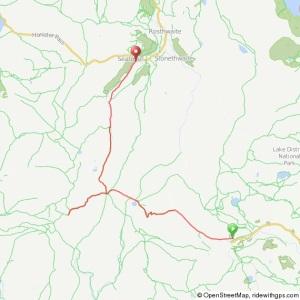 Scafell run route