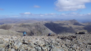 The view from Scafell Pike